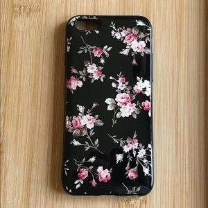 Accessories - NEW Iphone 6/6s Glossy Rose Pattern Case